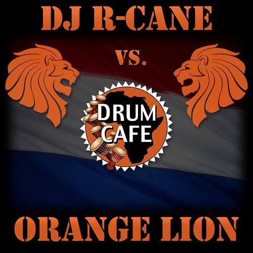 Daren The Lion. DJ_R-CANE_vs_Drumcafe---Orange-Lion