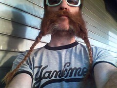 0423001844.jpg (dogseat) Tags: cameraphone selfportrait beard glasses funny tshirt sp sideburns gothamist 365 braids yankees beardo muttonchops project365 sidewhiskers phonecamseat 365days dundrearies 217365 yankme