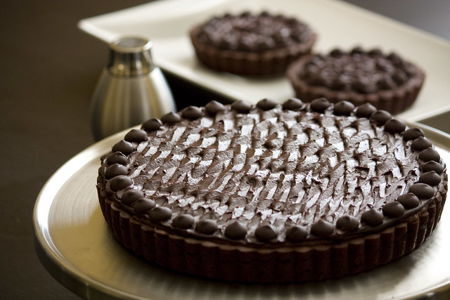 Post image for Chocolate Truffle Tarts