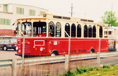 Grayline trolley. Chicago 2006.