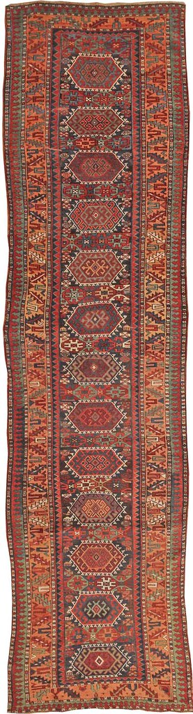 Antique Kurdish Persian Rug #44578 by Nazmiyal Collection