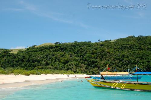 Arrival at Calaguas Island, Vinzons, Camarines Norte