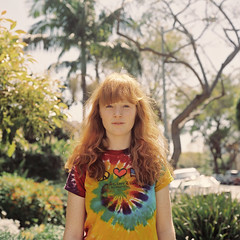 (laurenlemon) Tags: ca 6x6 film rolleiflex mediumformat caitlin march 120film redhead neighborhood tiedye expired redhair westhollywood kodakportra160vc 2010 laurenrandolph caitlinrandolph laurenlemon wwwphotolaurencom