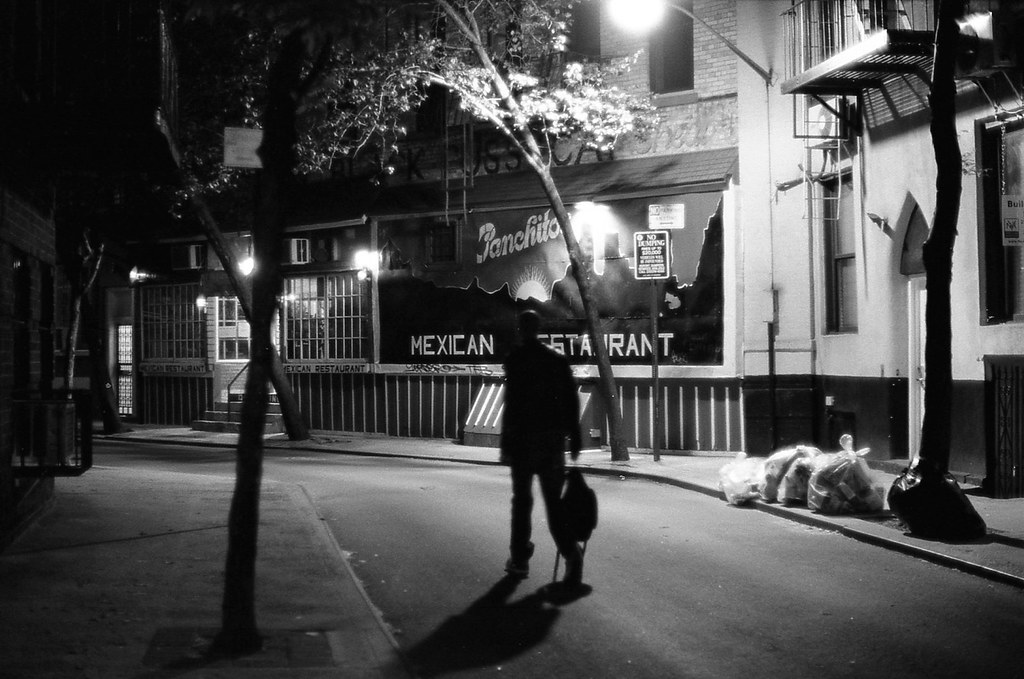 Dark Figure, Panchito's, Greenwich Village