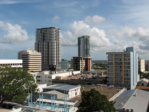 Darwin's Changing Skyline November 2008