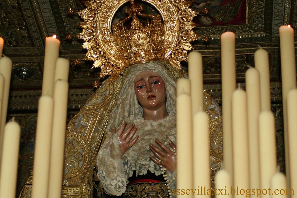 Nuestra Señora de la Angustia, Martes Santo 2010