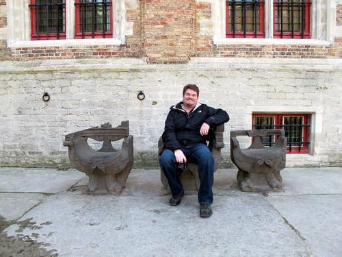 Scott in Brugge
