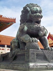 The Forbidden City (Stacy Sherman) Tags: china temple beijing palace theforbiddencity foolion guardianlion fulion lionofbuddha chineseguardianlions