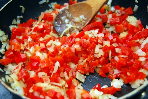 Red Pepper and Onions