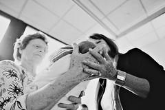 new life (Carl Zoch) Tags: life new blackandwhite baby hospital father birth mother newborn tiltshift