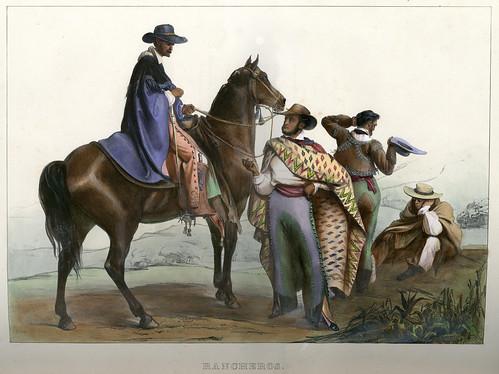 001-Rancheros -Voyage pittoresque et archéologique dans la partie la plus intéressante du Mexique1836-Carl Nebel