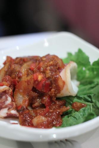 Grilled Sambal Sotong