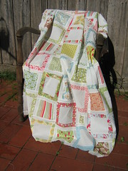 Another Verna quilt (Kellis Pieces) Tags: moda verna honeybun charmsquares katespain