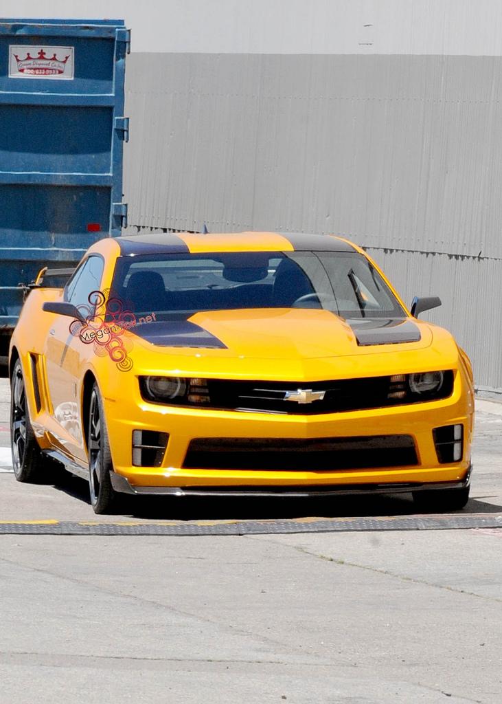 Transformers 3 Camaro spoiler Bumblebee