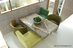 Citadel Table (call-small) Tags: house modern miniature citadel dollhouse