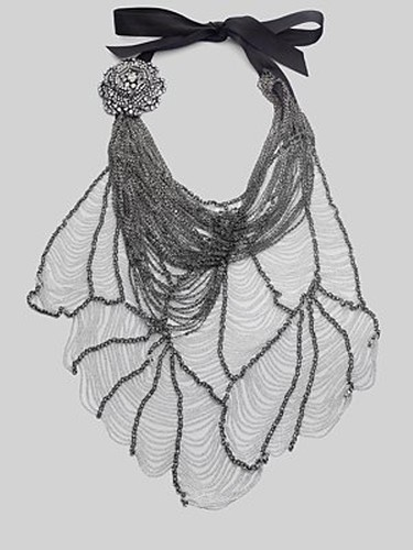 Vera Wang SS10 Web Butterfly Necklace 08
