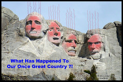 What Has Happened To Our Once Great Country ? ! (thegreatlandoni) Tags: usa art reed america photoshop freedom democracy scary artwork truth colorado artist republic unitedstates senator congressman character sony president political politics whitehouse evil denver communist communism problem congress adobe lie depression doom government nightmare constitution mavica honesty scared capitalism emergency miserable amateur problems distillery confusion liar obama crisis confusing hussein senate marxism socialism arrogance pelosi prosperity impeach bedlam impeachment dilemma strife barack brokenpromises godhelpus commonsense startling freeenterprise highlandsranch discouragement billayers discouraging werescrewed ysplix mvccd1000 theannointedone