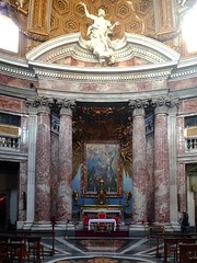Sant'Andrea al Quirinale looking toward the Altar