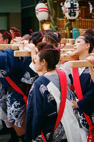 松原神社例大祭 - 上若