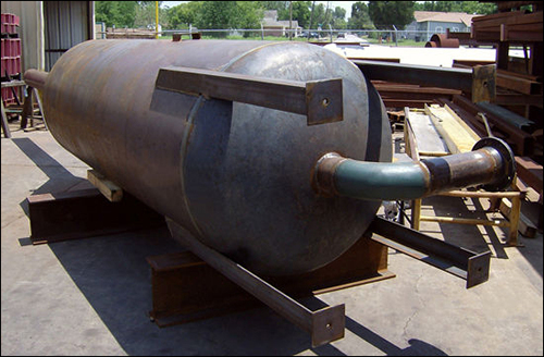 "48"" Carbon Steel Pressure Vessel"