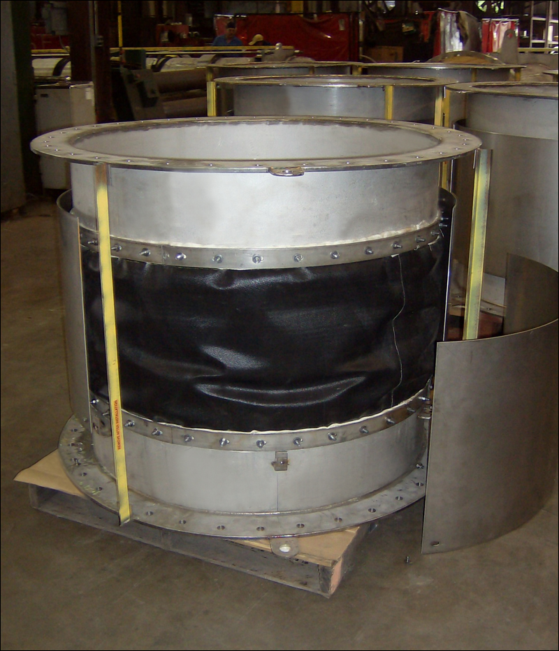 "44"" Expansion Joints for a Petrochemical Plant"
