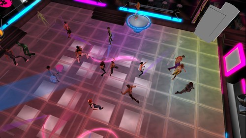 fierce nightclub dance floor