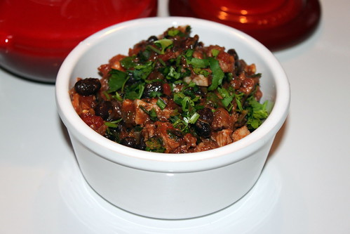 Roast Pork & Black Bean Chilli