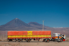 long haul truckers and volcanoes in the Atacama Desert of Chile (Phil Marion (177 million views - THANKS)) Tags: travel philmarion philippemarion explore phil marion canon5diii 5d3 canon toronto canada candid architecture street portrait landscape wildlife nature bird urban flowers macro insect longexposure ontario skyline cityscape home sky water outside beach dog old indoors sunrise sunset dusk fun shadows hdr snow art model feet night photo shutter happy film focus smiling jpeg notsony notnikon