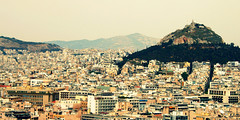The view over Athens.... (dreamwhile) Tags: city hill athens akropolis