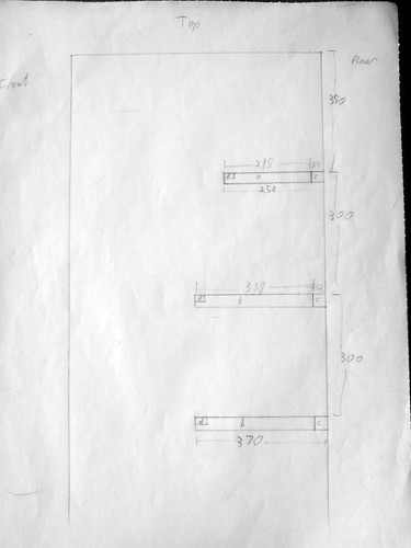 Shelves plan