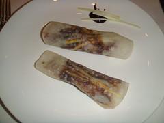 Crepes de pato lacado estilo Pekín