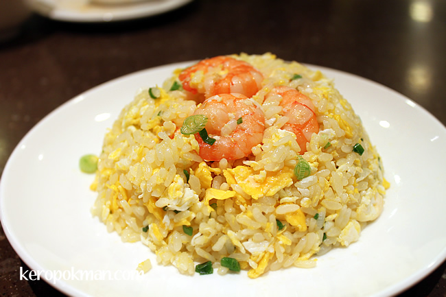 Fried Rice with Shrimps and Eggs