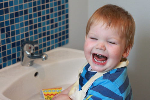 Playing in Sink (6)