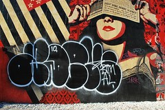 Adek (StuckOnMars) Tags: al obey adek buffed dissed btm