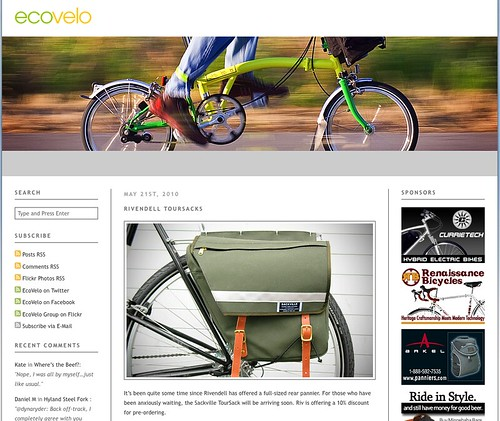 EcoVelo: pretty and informative.