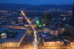 Nightscape of Ulaanbaatar