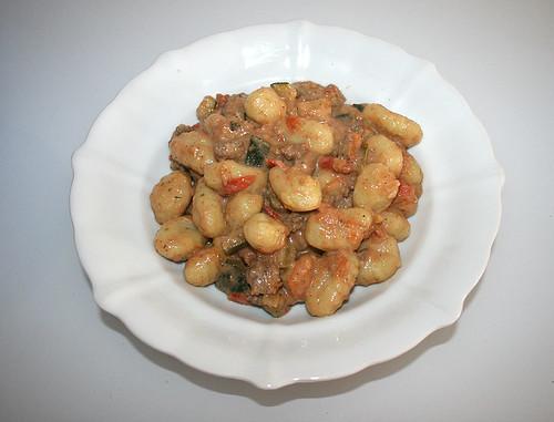26 - Gnocchi-Zucchini-Pfanne - fertiges-Gericht