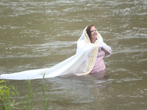 Bliss in the River (even when it was VERY cold!)
