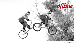 offline III (Ernesto Lago) Tags: blackandwhite bw byn blancoynegro bike sport photo blackwhite jumping rojo buenosaires cyclist noiretblanc air rder wheels bicicleta bn acrobatics ciclista deporte salto saltando grayscale extremesports morn aire offline esporte pretoebranco 2010 riders ruedas cycliste noirblanc cyclers duplicated radfahrer blanconegro akrobatik blackwhitered rodas doppelt springen pirouette ciclistas pirueta acrobacia  top20sports roues acrobatie haedo radicalsports repetido   duplicado flickraward    endouble  flickrestrellas schwarzundweis quarzoespecial rougeblancnoir schwarzweisrot rojoblanconegro  vermelhopretobranco  ernestolago