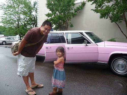 pink cadillac.