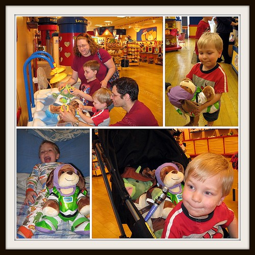 JSL's first visit to Build-A-Bear