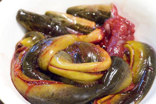 de-boned eel