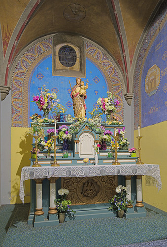 Saint Meinrad Archabbey, in Saint Meinrad, Indiana, USA - Monte Cassino Shrine - altar