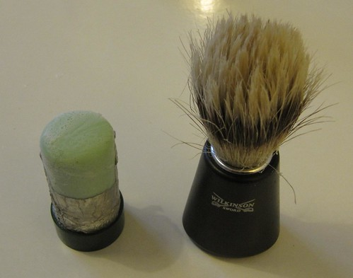 Shaving brush and stick soap 6084