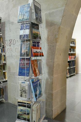 Museu Marítim. Biblioteca. Expositor