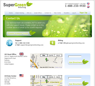 SuperGreen Contact Information