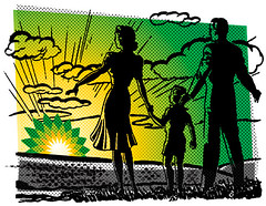 4647242476 (Greenpeace UK) Tags: gulfofmexico logo greenpeace competition bp tarsands rebrandbp behindthelogo