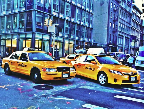 NYC Taxi iPhone HDR