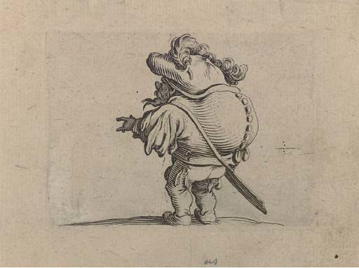 "From ""Les Gobbi"" by Jacques Callot (1592–1635)"