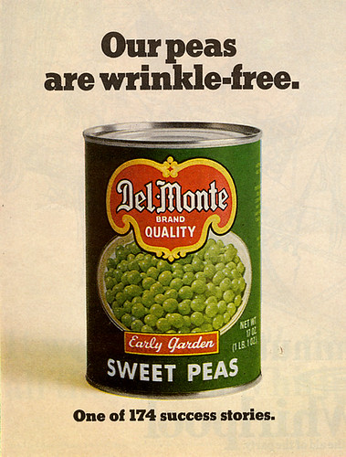 peas, non-wrinkly please